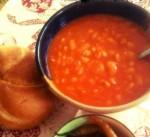 Chorba loubia bel kemmoun (Soupe aux haricots blancs)