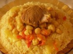 Couscous au safran et au poivre noir de Tlemcen