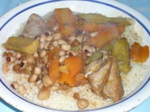 Couscous Kabyle aux légumes