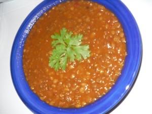 Lentilles à l'algérienne (l'3dess)