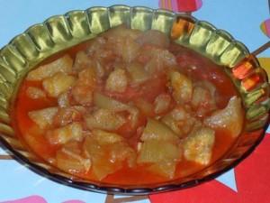Tajine d'aubergine (chtitha badendjel)