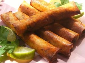 Bourek aux fruits de mer
