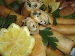Bourek au poulet et champignons