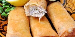 Bourek de thon et fromage