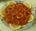 Calamars en sauce tomate (Calamars Chtitha)