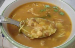 Soupe orientale