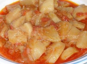 Tajine de pomme de terre (Tlemcen)
