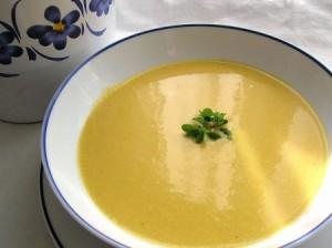 Soupe de fenouil à la crème
