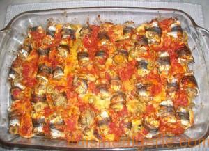 Gratin de sardines aux pommes de terre