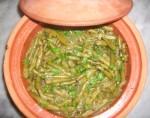 Haricots verts à l'ail et à la coriandre fraîche