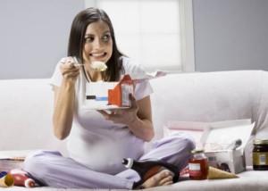 Future maman : La forme dans l'assiette