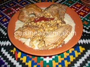 Couscous de Yennayer (Jour de l'an Amazigh)