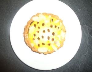 Tartelettes à la crème au chocolat-crème au citron