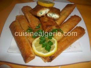 Bourek au fromage-ail-persil