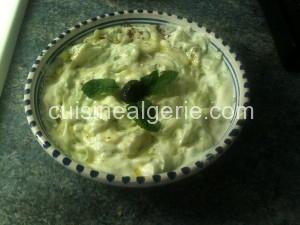 Concombre à la grecque- tzatziki-