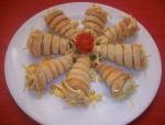 Cornets en pâte feuilletée