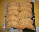 Cornes de gazelle aux cacahuètes