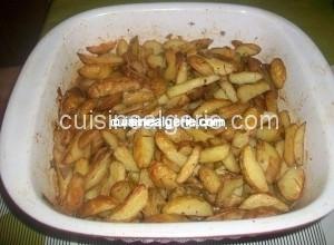 Petites pommes de terre au four