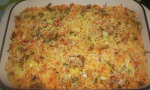 Gratin de riz au thon