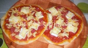 Ma pizza à la poêle