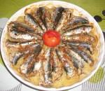 Gratin de sardine et pommes de terre
