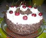 Le gâteau aux cerises de la Foret Noire