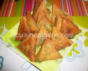 Bourek aux épinards et fromage