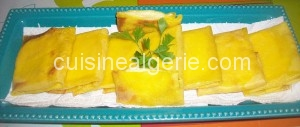 Crêpes fourrées aux fromages