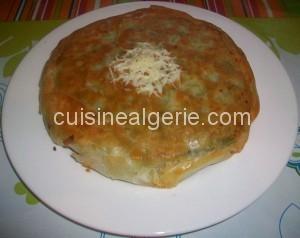 Pastilla aux épinards et fromage