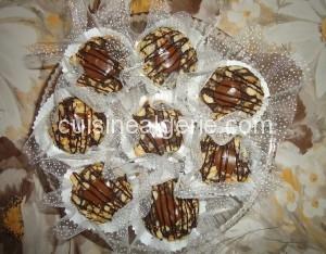 Gâteaux aux cacahuètes et Nestlé