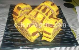 Biscuit roulé au safran