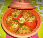 Dolma de légumes (sauce rouge)