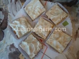 Gâteau meringué