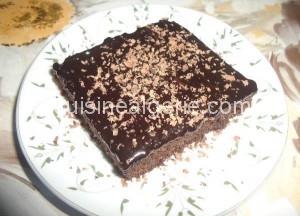 Gateau au chocolat saveur Nesafé