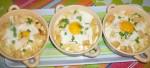 Œufs en cocotte au chou-fleur