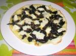Omelette aux champignons frais