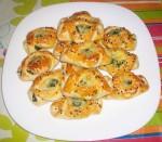 Petit pain turque aux épinards