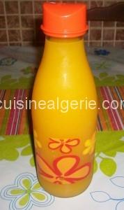 Jus maison (oranges et carottes)