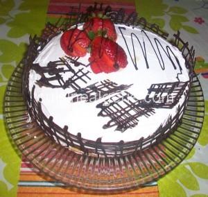 Mon gâteau  à la poêle