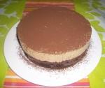 Gâteau à la mousse au café