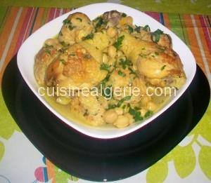 Tajine de boulettes de riz et poulet