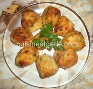 Croquettes de chou-fleur et de pommes de terre