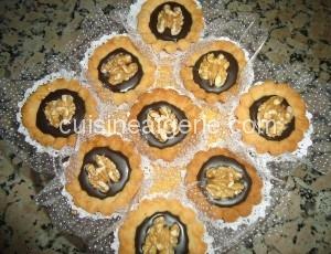 Tartelettes au Nestlé et au chocolat