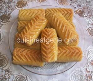 Makrout au jus d'orange (cuisson au four)