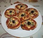 Mini pizza à la pâte feuilletée