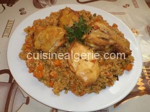 Riz au poulet