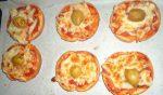 Pain de mie façon pizza