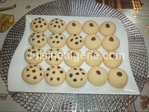 Les biscuits de la famille (sablés)