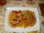 Ballottines de poulet en sauce suprême