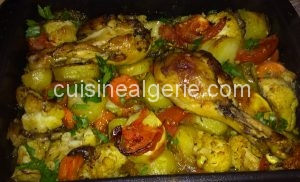 Légumes rôties au four
